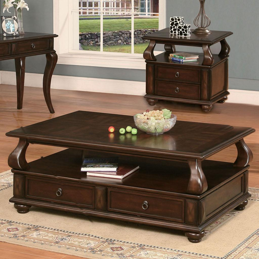 Acme Furniture Amado Espresso Coffee Table - Item Number: 80010