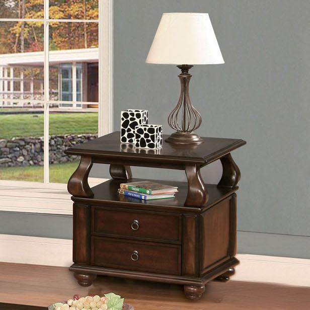 Acme Furniture Amado Espresso End Table - Item Number: 80012