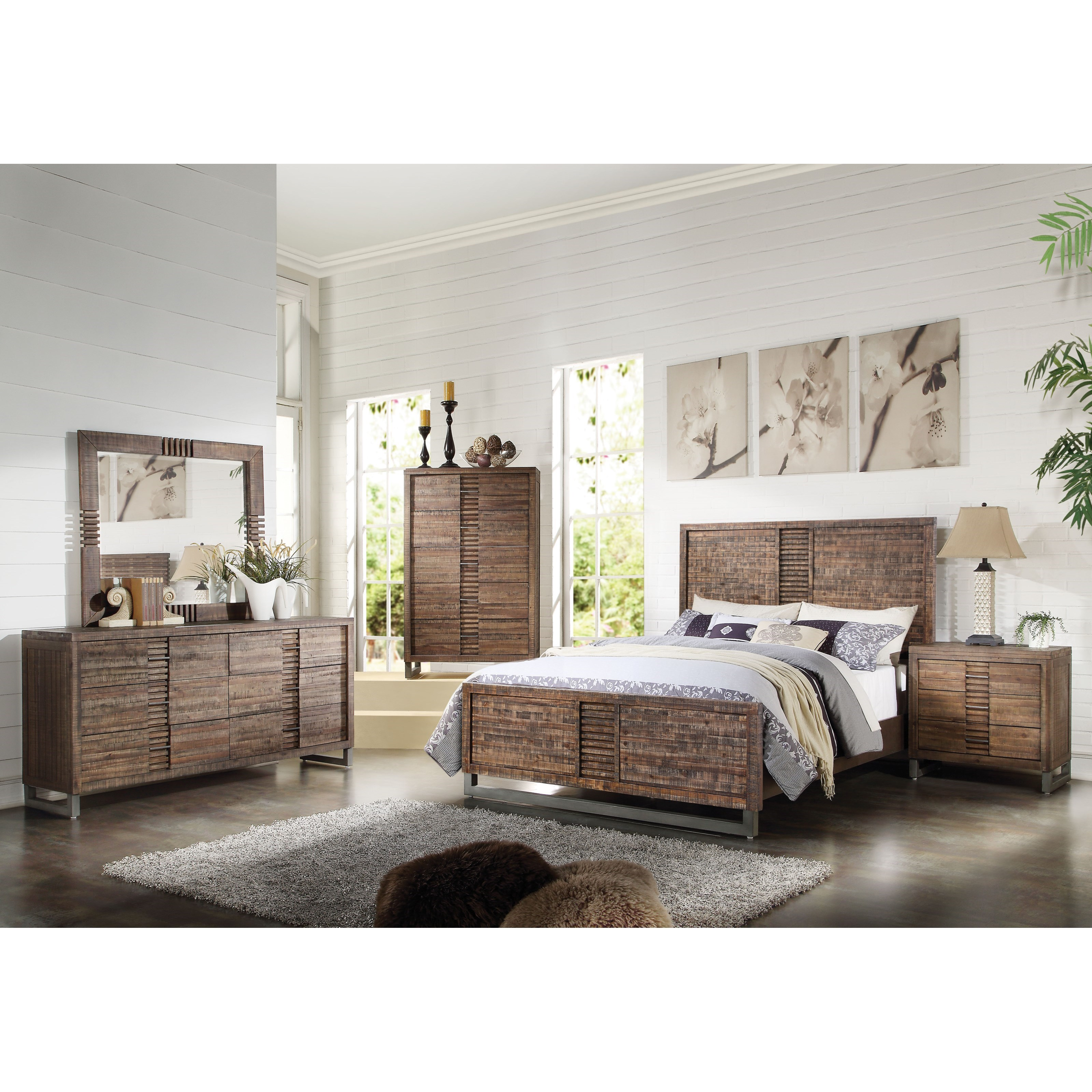 Andria Queen Bedroom Group by Acme Furniture at Carolina Direct