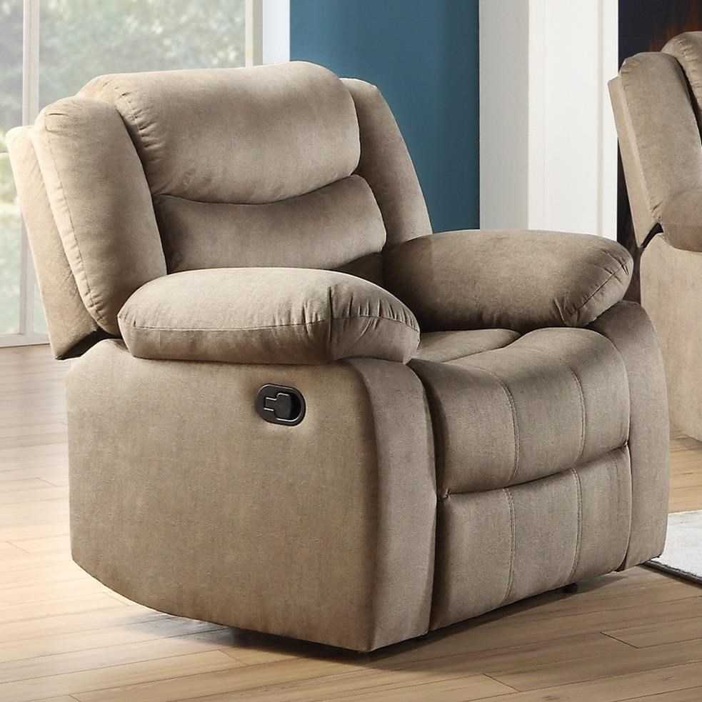 Angelina Recliner by Acme Furniture at Carolina Direct
