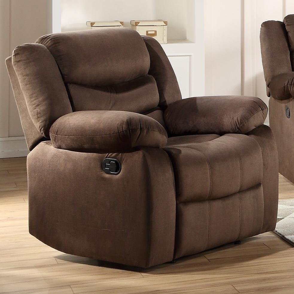Angelina Recliner by Acme Furniture at Carolina Direct