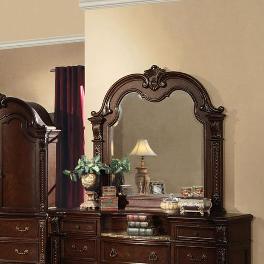 Acme Furniture Anondale Traditional Mirror - Item Number: 10314