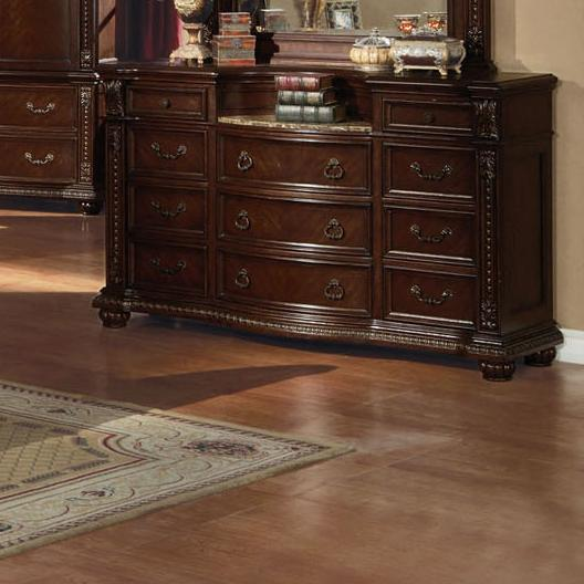 Anondale Dresser W/Marble Top by Acme Furniture at Carolina Direct