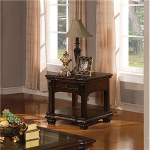 Acme Furniture Anondale Traditional End Table