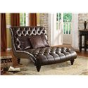 Acme Furniture Anondale Traditional Chaise Lounge - Item Number: 15035
