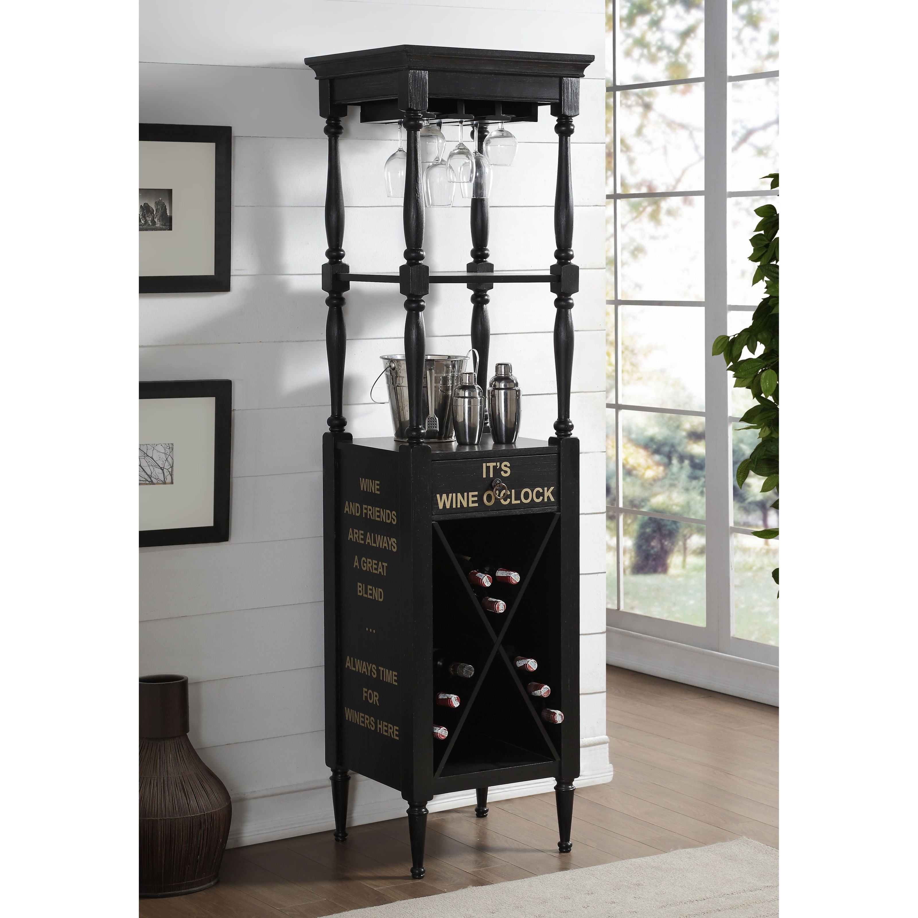 Anthony Wine Cabinet by Acme Furniture at Carolina Direct