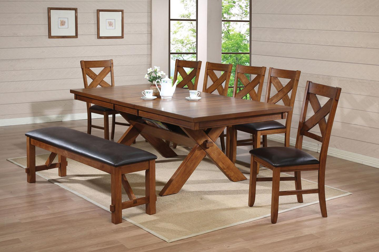 Dining Room Set With Chairs And Bench
