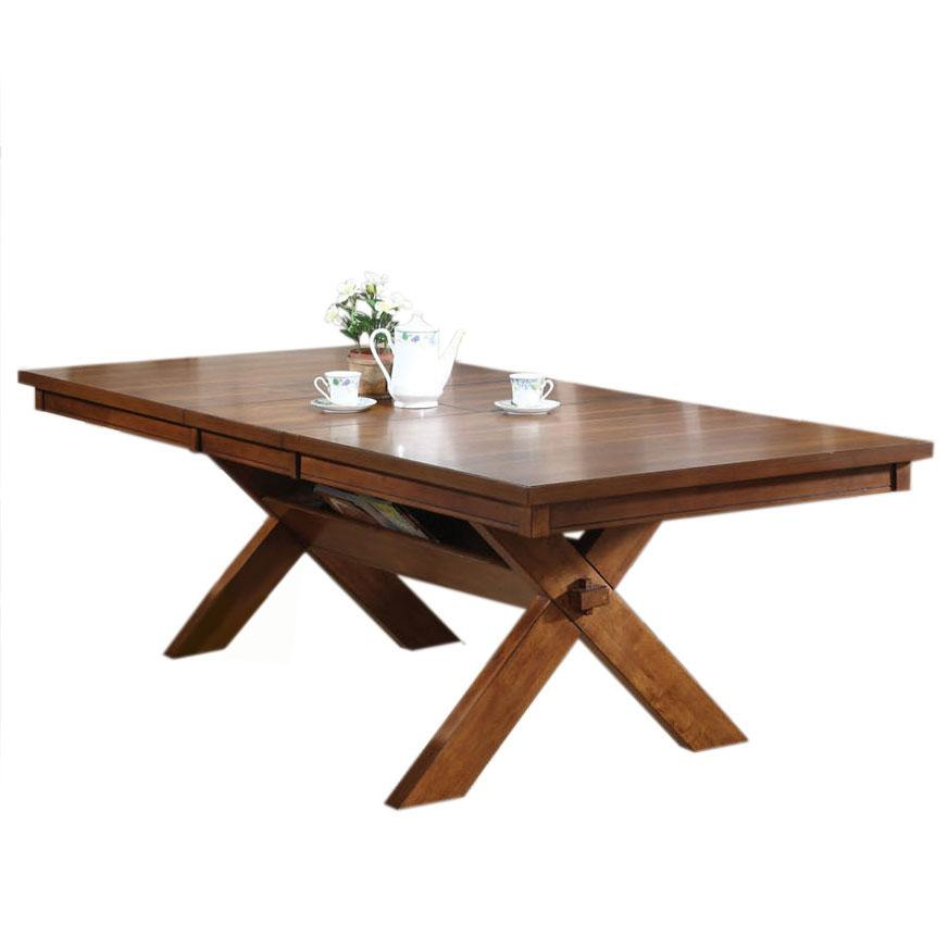 Acme Furniture Apollo Trestle Dining Table - Item Number: 70000