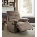 Acme Furniture Arcadia Recliner - Item Number: 00703