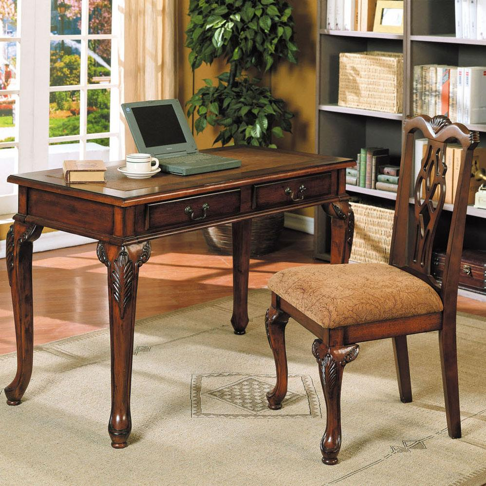 Acme Furniture Aristocrat Writing Desk with Chair - Item Number: 09650