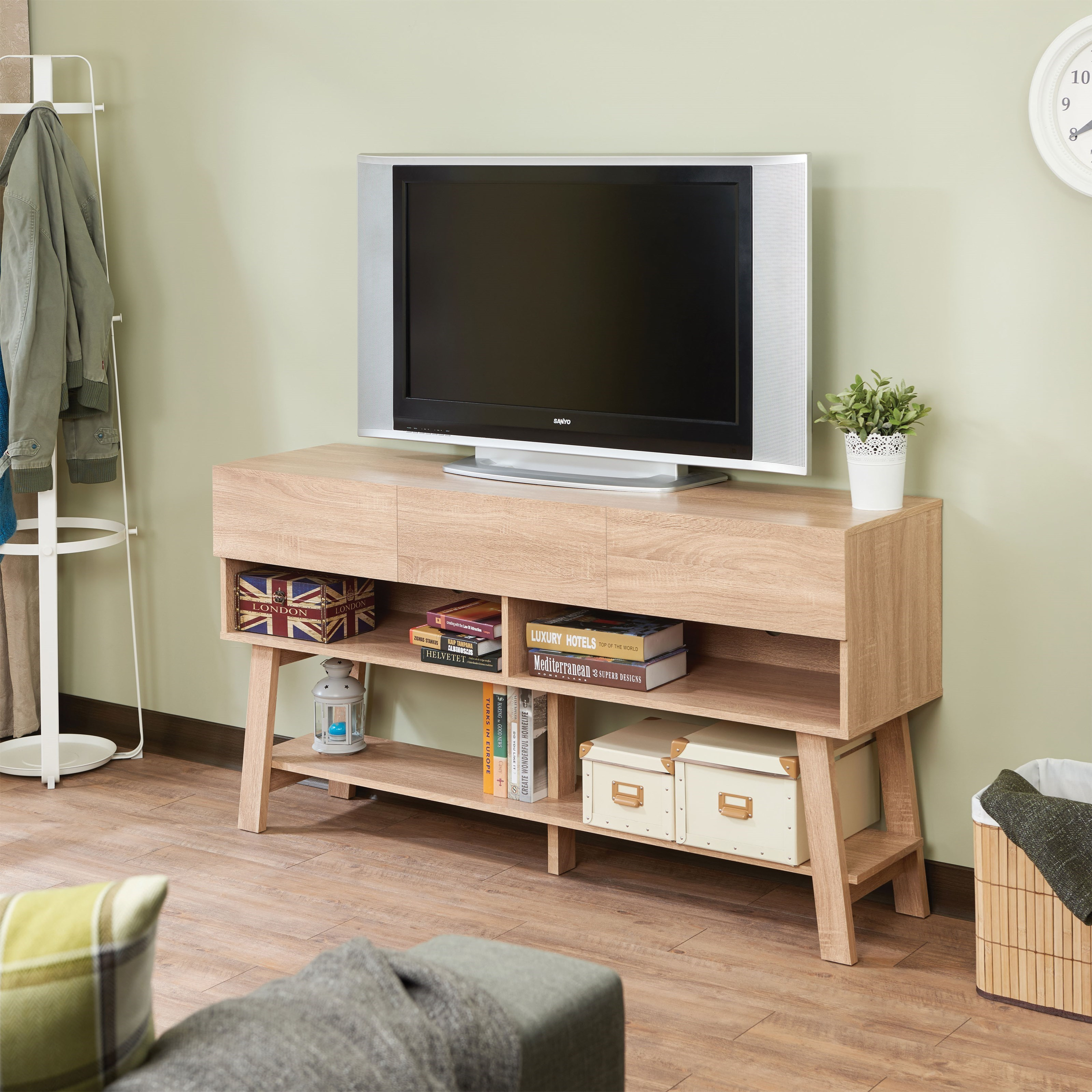 Ariza TV Stand by Acme Furniture at Carolina Direct