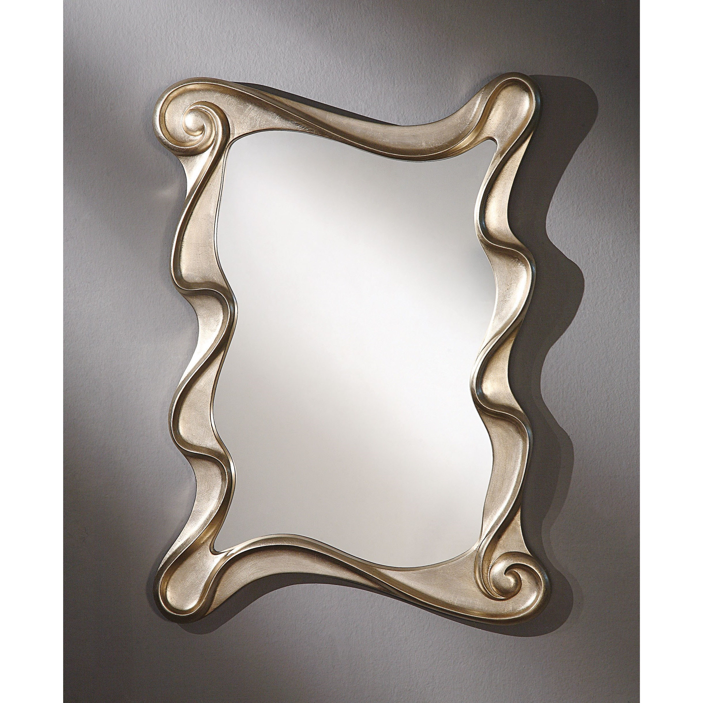Arla Wall Accent Mirror by Acme Furniture at Carolina Direct