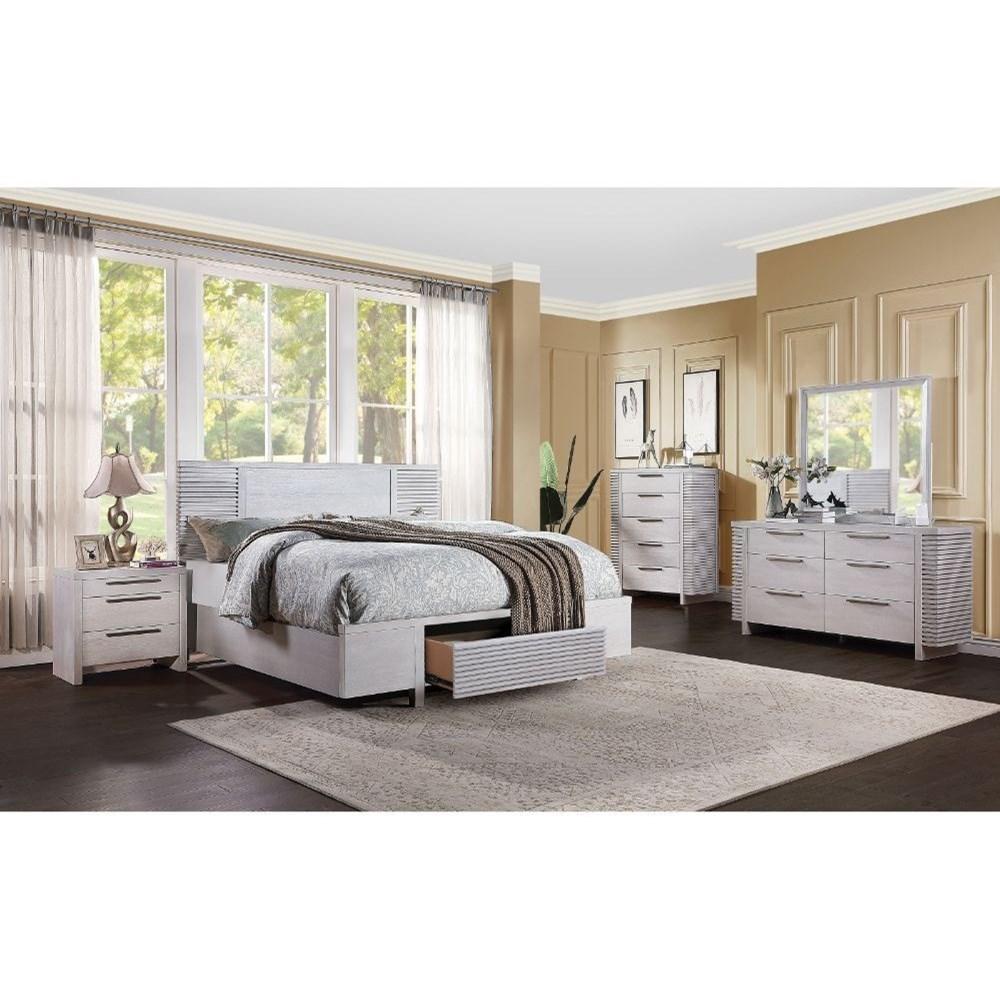 Aromas California King Bedroom Group by Acme Furniture at Carolina Direct