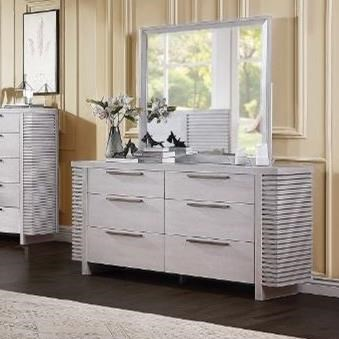 Aromas Dresser & Mirror Set by Acme Furniture at Carolina Direct