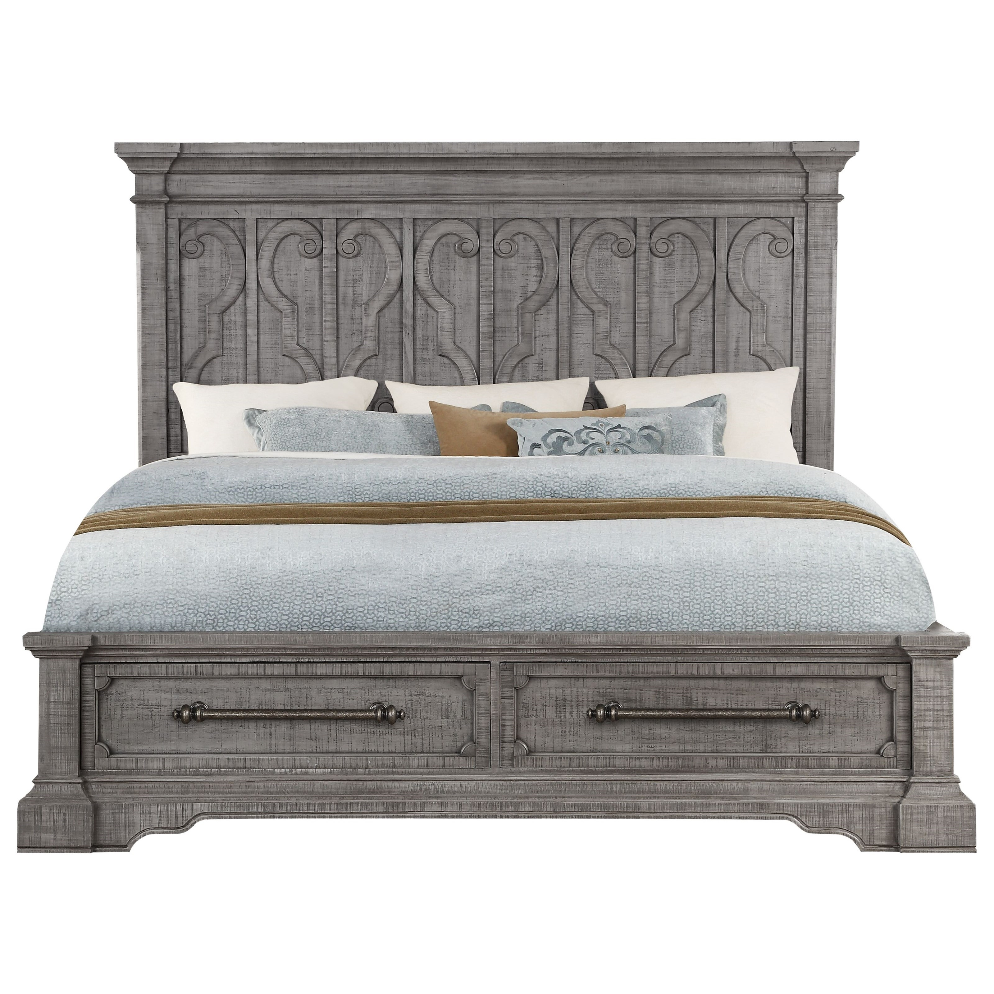 Acme Furniture Artesia California King Bed W Storage Dream Home Interiors Platform Beds Low Profile Beds