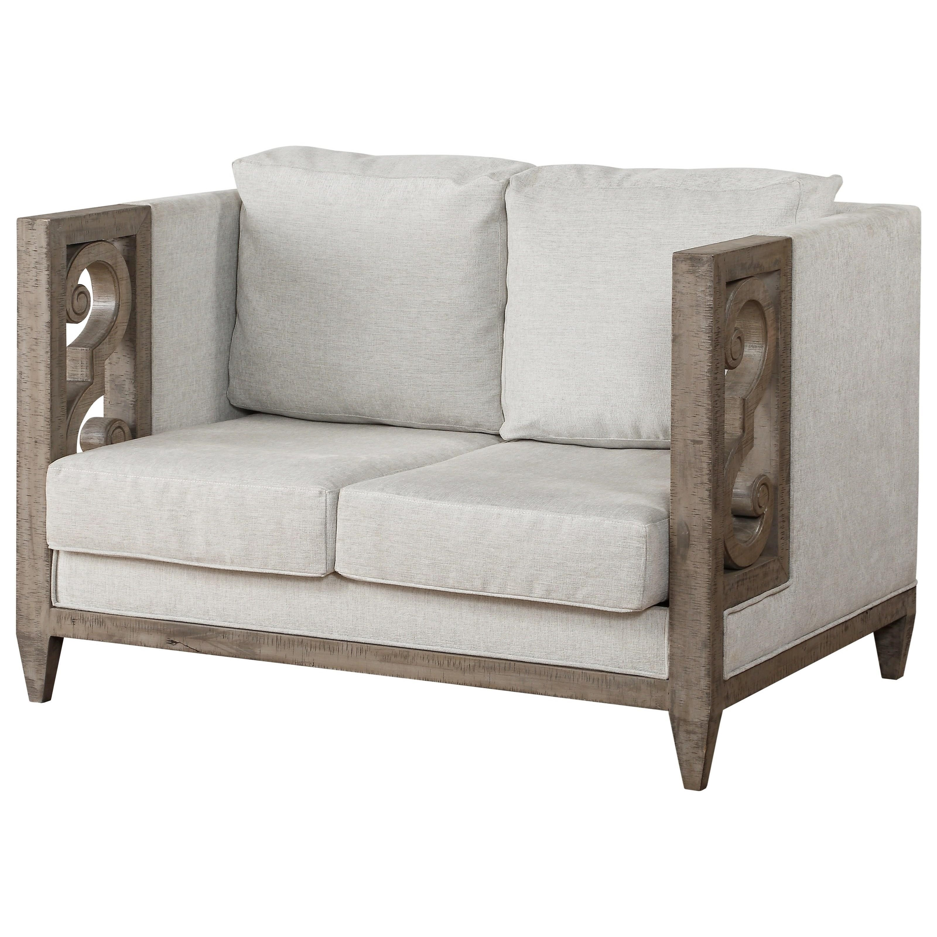 Artesia Loveseat by Acme Furniture at Carolina Direct