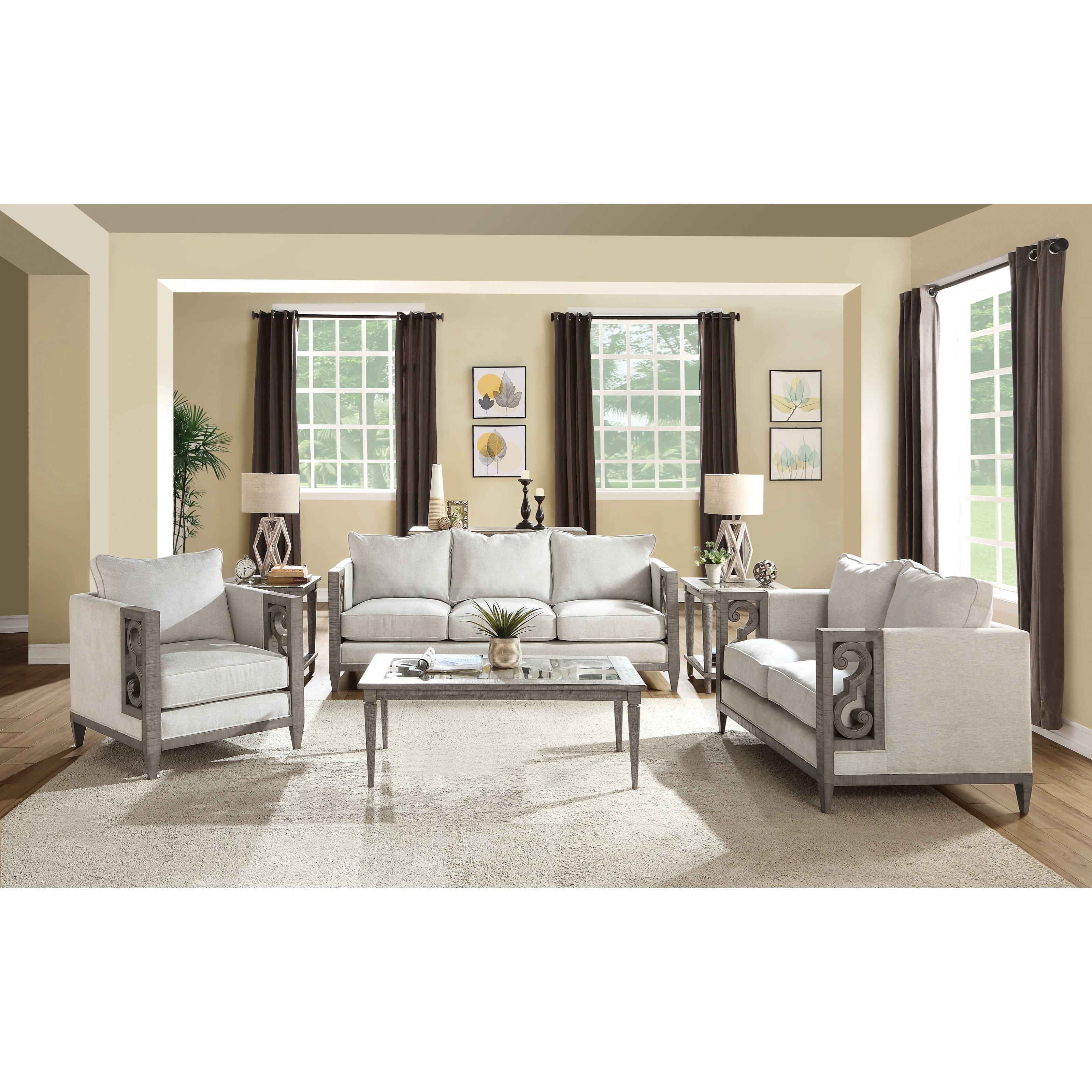 Artesia Living Room Group by Acme Furniture at Carolina Direct