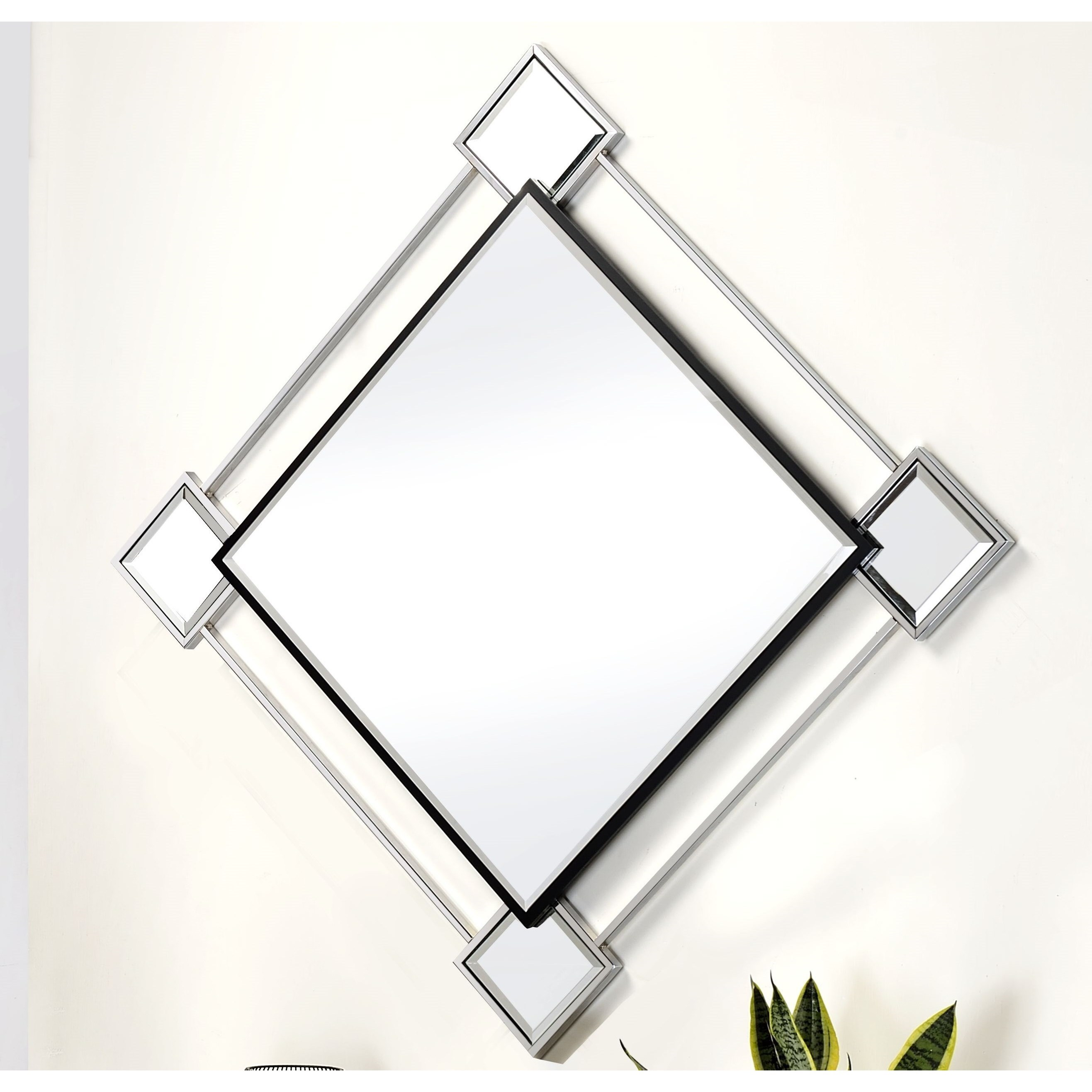 Asbury Accent Wall Mirror by Acme Furniture at Carolina Direct