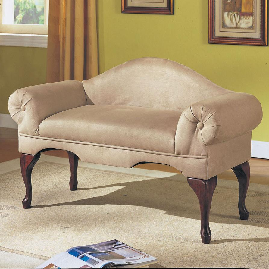 Acme Furniture Aston Rolled-Arm Bench - Item Number: 05630