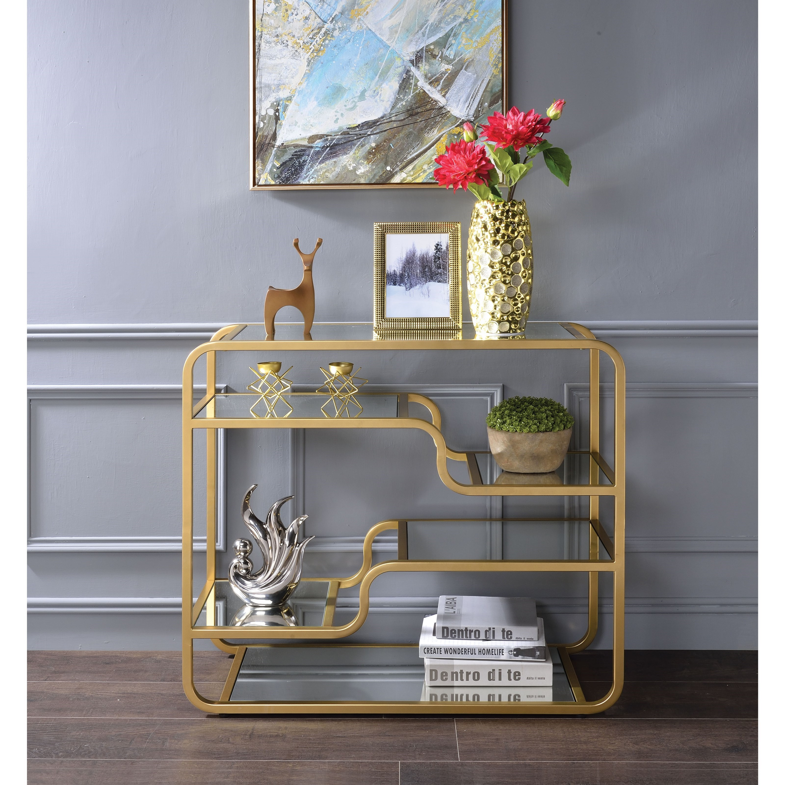 Astrid Sofa Table by Acme Furniture at Carolina Direct