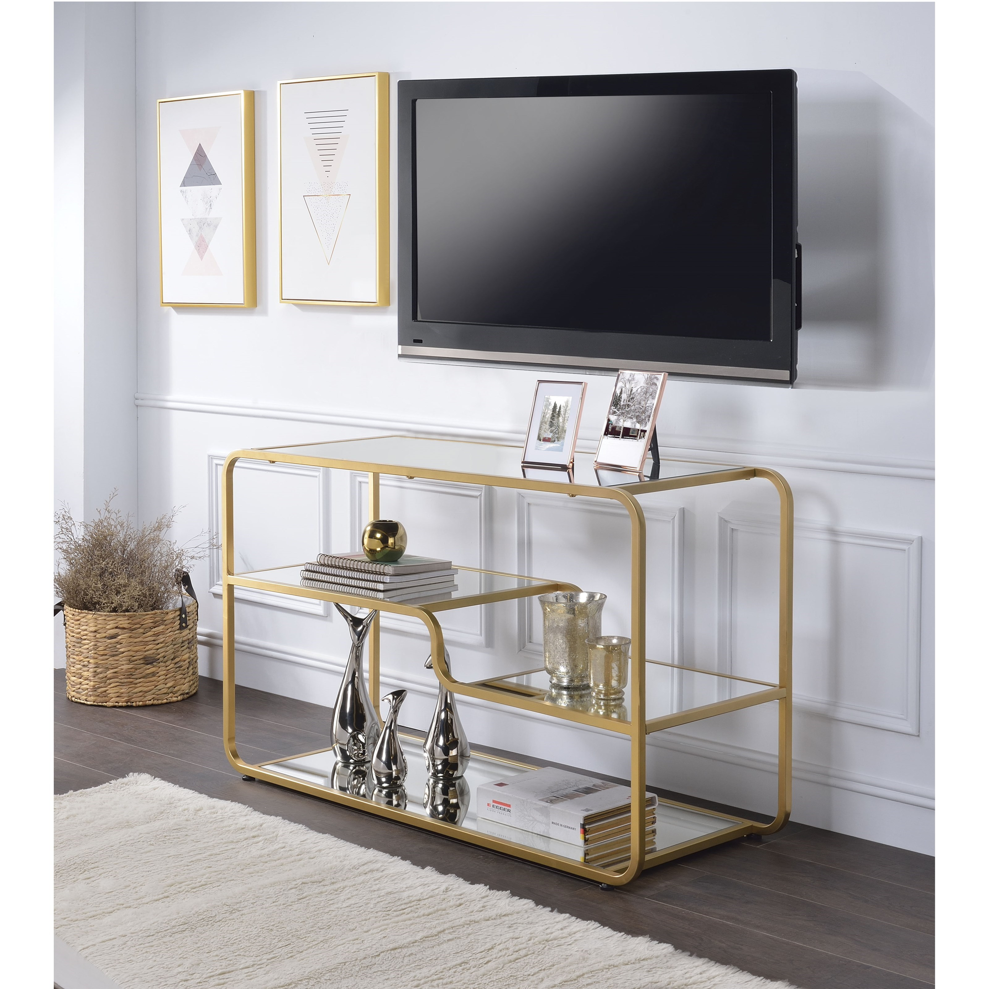 Astrid TV Stand by Acme Furniture at Carolina Direct