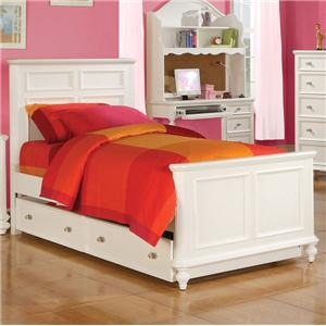 Athena Youth Full Size Panel Bed by Acme Furniture