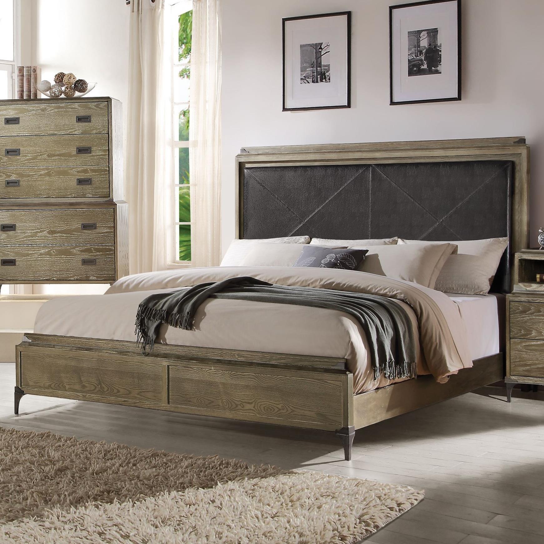 Queen Bed (Panel)