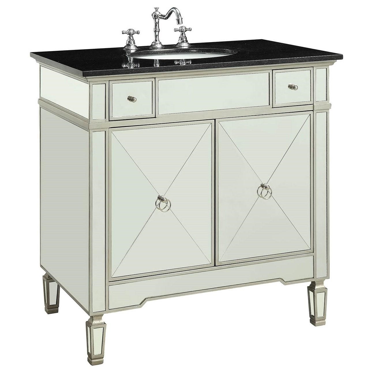 Atrian Sink Cabinet by Acme Furniture at Carolina Direct