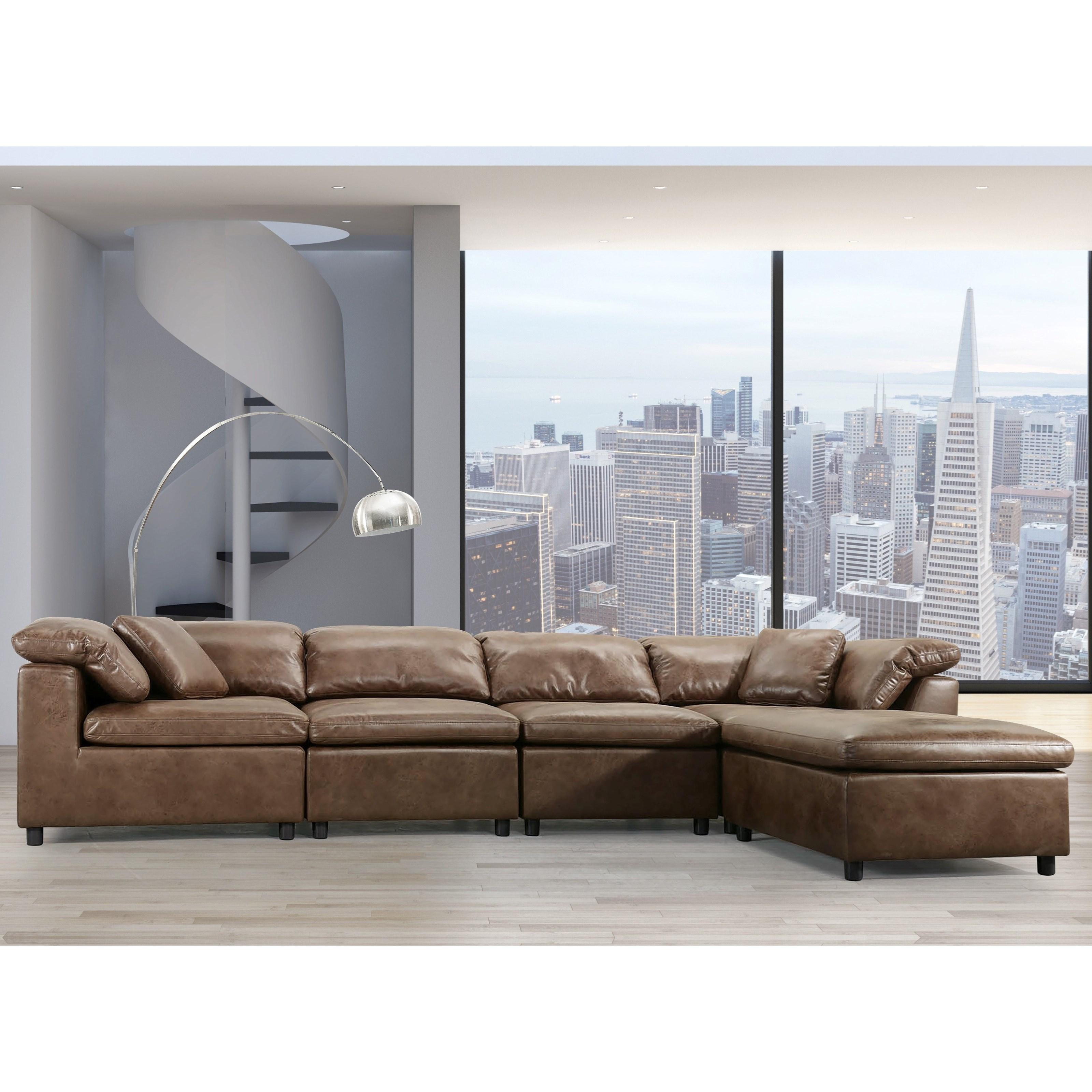 Audrey Modular Sectional Sofa by Acme Furniture at Carolina Direct