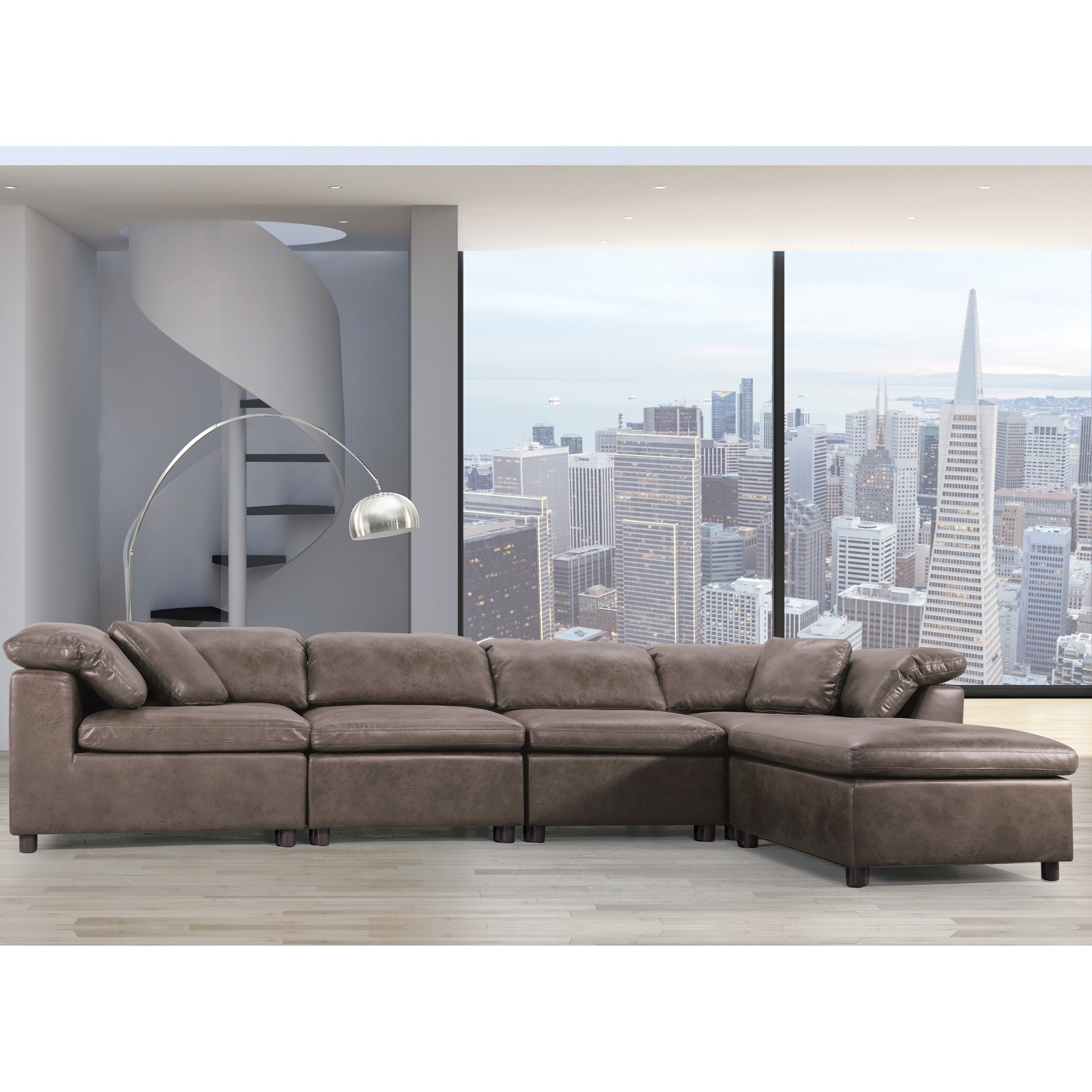 Audrey Modular Sectional Sofa by Acme Furniture at Carolina Direct