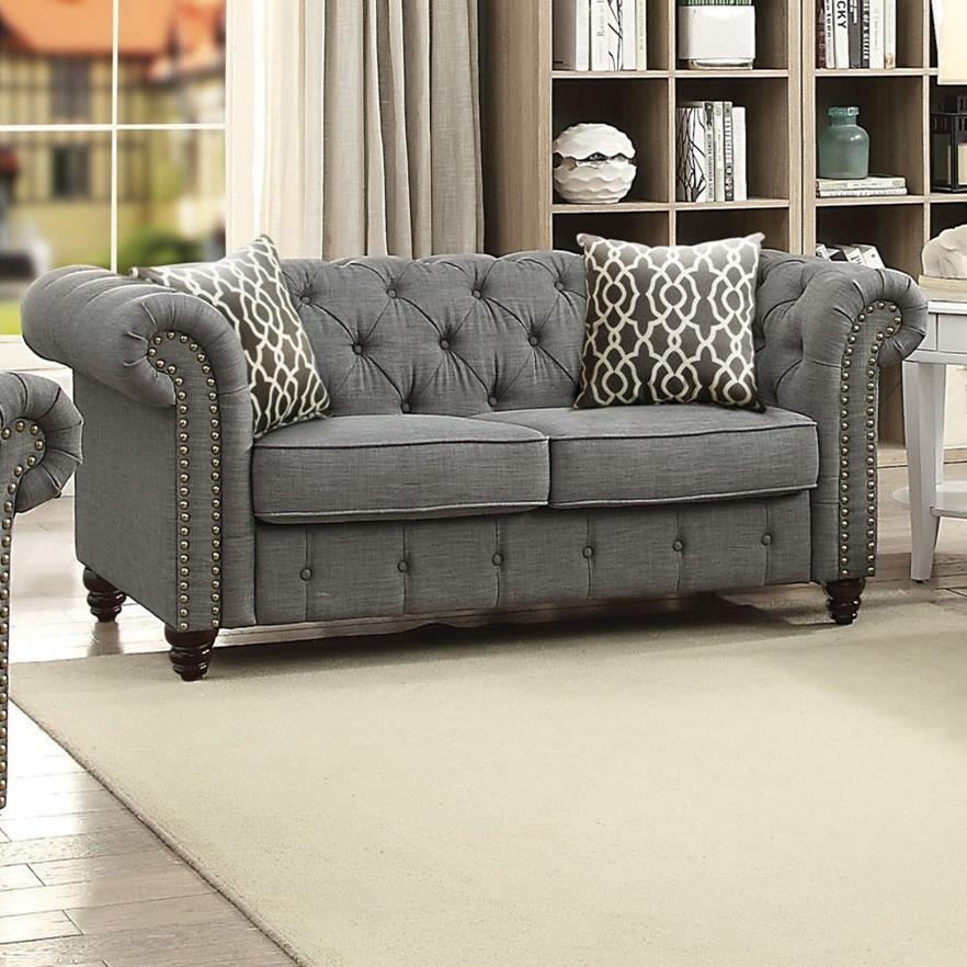 Aurelia Loveseat by Acme Furniture at Carolina Direct