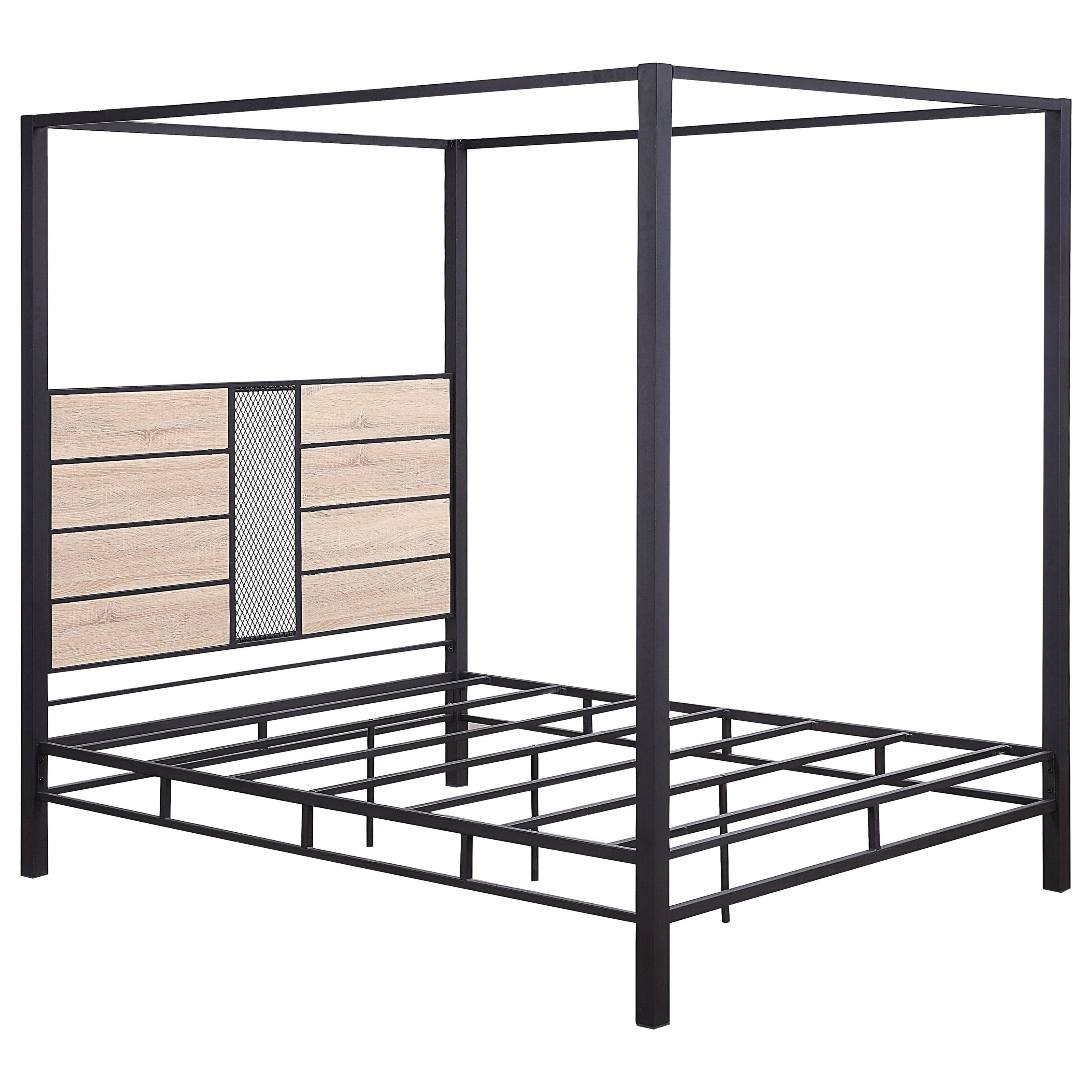 Baara Queen Canopy Bed  by Acme Furniture at Carolina Direct
