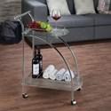 Acme Furniture Badin Serving Cart - Item Number: 98272