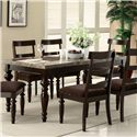 Acme Furniture Bandele Dining Table - Item Number: 70380