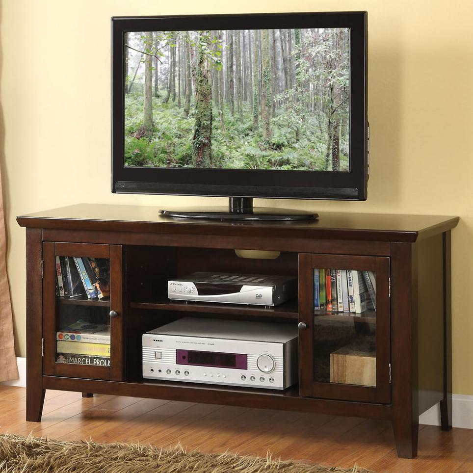 Acme Furniture Banee Espresso TV Stand - Item Number: 91050