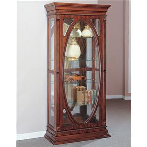 Acme Furniture Becka Cherry Curio Cabinet