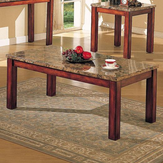 Acme Furniture Bologna Marble Coffee Table - Item Number: 07372