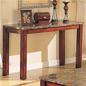 Acme Furniture Bologna Marble Sofa Table