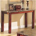 Acme Furniture Bologna Marble Sofa Table - Item Number: 07374