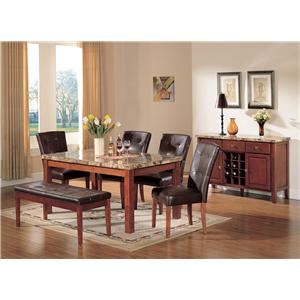 Acme Furniture Bologna Bologna Dining Set