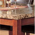 Acme Furniture Bologna Rectangular Marble Top Dining Table - Faux Marble Top.