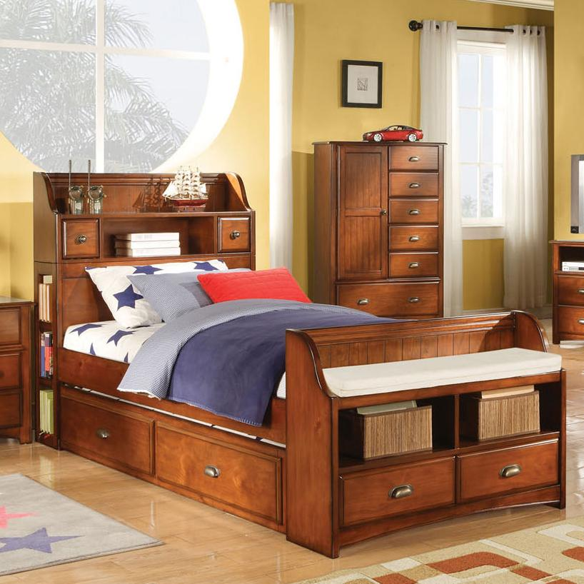 Acme Furniture Brandon Twin Bed - Item Number: 11010AT