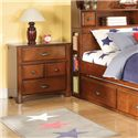 Acme Furniture Brandon Traditional Four-Drawer Nightstand