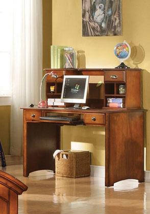 Acme Furniture Brandon Desk and Hutch - Item Number: 11019+11018