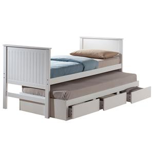 Acme Furniture Bungalow Twin Bed & Trundle