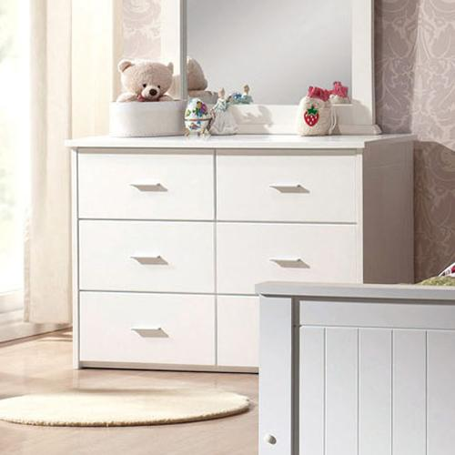 Acme Furniture Bungalow 6 Drawer Dresser - Item Number: 30041