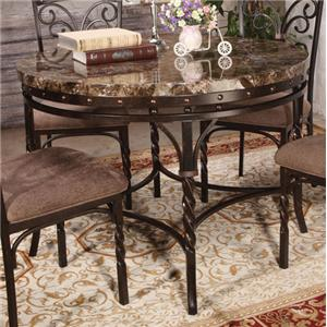 Acme Furniture Burril Dining Table W/Faux Marble Top