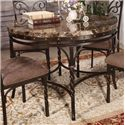 Acme Furniture Burril Dining Table W/Faux Marble Top - Item Number: 70584