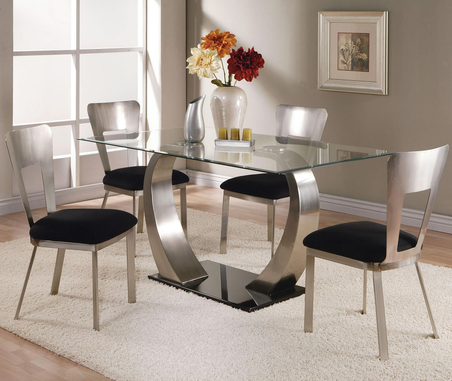Acme Furniture Camille 5 Piece Dining Set - Item Number: 10090+4x93