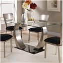 Acme Furniture Camille Dining Table w/ Glass Top